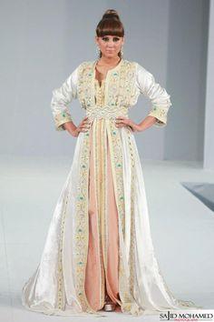 Moroccan Caftan, Moroccan Style, Moroccan Decor, Oriental Fashion, Asian Fashion, Oriental Style, White Kaftan, White Dress, Kaftan Abaya