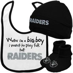 Gerber Oakland Raiders Newborn 3-Piece 1e519ace3
