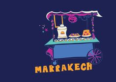 Some of the iconic marks of Morocco : Marrakech