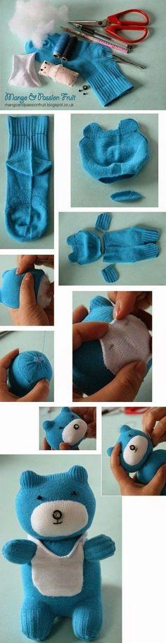 30 χρήσιμες και πρακτικές κατασκευές και χρήσεις απο παλιές κάλτσες