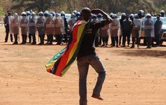 Columnist Farai Sevenzo considers why the authorities in Zimbabwe are making efforts to protect the country's flag - and from what it needs protecting. Latest World News, Zimbabwe, Bbc News, Police, Flag, African, In This Moment, Columnist, Letters