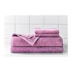HÄREN - IKEA (2 bath sheets, 2 hand towels, 2 wash cloths = $21)