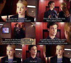 Dr. Spencer Reed explains Doctor Who.  Criminal Minds.