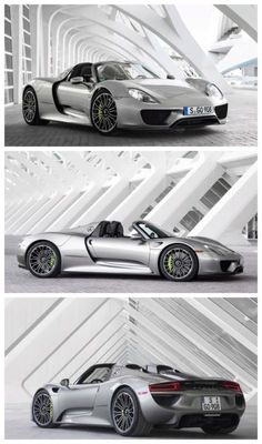 BOOM! Petrolhead's Holy Grail: A Trifecta of Hypercars. Click to have your mind blown #spon #Porsche918 Super Sport Cars, Super Cars, Sexy Cars, Hot Cars, Porsche Models, Porsche 918, Greaser, Hot Rides, Mind Blown