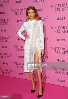 Millie Mackintosh attends the annual Victoria's Secret fashion show at Earls Court on December 2, 2014 in London, England.