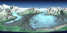 Malaspina Glacier is actually a compound glacier, formed by the merger of…