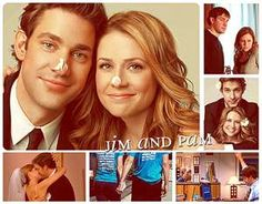 Jim and Pam - pretty much the best tv love story ever. <3