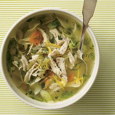 Cure-a-Cold Spring Chicken Soup.