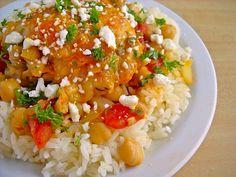 Greek Chicken Stew- i loved this but jason didn't