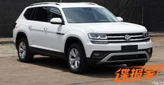 New Volkswagen Teramont Full-Size Crossover Is Like The Poor Man's Audi Q7 #China #Scoops