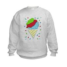 Snow Cone Confetti Sweatshirt
