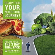 We are just loving these 3 day trial packs! You will too! The results in 3 days is just an example of how herbalife can change your life! https://www.goherbalife.com/rmathews/en-US