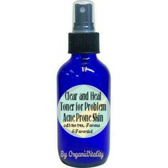 New product stocked!! Heal and Clear Toner for Problem Acne Prone Skin with Tamanu, Tea Tree, and Tamarind. Clear up acne a day balance oily skin. Toner is An option for the problem Skin Treatment Kit, which is 15% off (along with all regime kits)