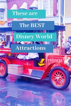 Out of every ride in Disney World these are the top 20 Disney rides that you must ride when going to Walt Disney World. This list of the 20 best Disney rides ranked are the best Disney has to offer. Best Disney Rides, Walt Disney World Rides, Disney World Attractions, Disney World Vacation Planning, Disney Planning, Disney Vacations, Disney Parks, Disney World Tips And Tricks, Disney Tips