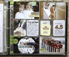 This board has all 52 weeks of Ali Edwards Project Life spreads