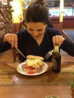 Sandwich & beer