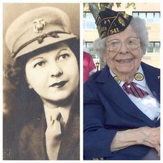"""""""Once a Marine, Always a Marine."""" Read the story of Lucile, a resident of Norwood Crossing and Marine Corp veteran. Pretty cool!"""