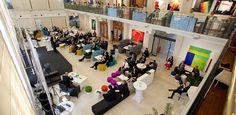 """Der Konferenz- und EventveranstalterLSZ Consultinglud am 05. Juni 2013 zum Symposium """"Future of Work"""". Die Arbeitswelt unterzieht sich gerade einem radikalen Wandel. Feste Bürozeiten, fixe Arbeitsplätze und stetige Abläufe rücken immer mehr in den Hintergrund. Information Worker und Digital Natives streben danach zu arbeiten wie, wo und wann sie wollen. Im """"Kampf"""" um die High Potentials müssen sich Unternehmen neu aufstellen und attraktive Arbeitsbedingungen schaffen. Juni, Desk, Furniture, Home Decor, Lineup, Business, Desktop, Decoration Home, Room Decor"""