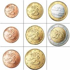 Alle euromunten - Euromunten en biljetten Coins, Info, Collection, Annie, Countries, Coin Collecting, Comment Please, Trier, Rooms