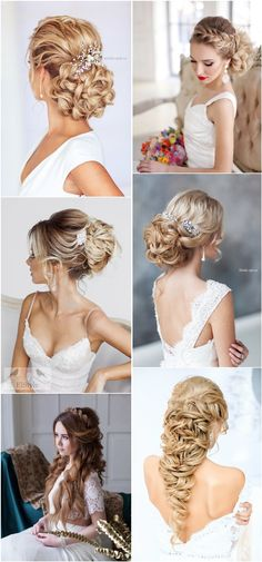 20 Prettiest Wedding Hairstyles and Wedding Updos | http://www.deerpearlflowers.com/20-prettiest-wedding-hairstyles-and-wedding-updos/