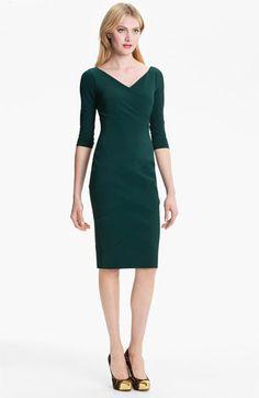 Detail Sheath Dress