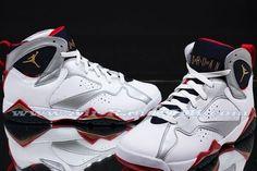 """Air Jordan 7 GS """"Olympic"""" 2012 Detailed Images"""