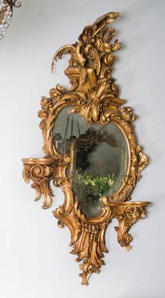 rococo giltwood mirrors