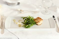 Dungeness Crab Cake Micro lettuces, lemon confit, herb aioli