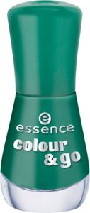 colour & go nail polish 159 the green & the grunge - essence cosmetics
