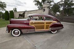 1948 Chevrolet Fleetline Woody Aerosedan- (Chevrolet Motor Co. Detroit, Michigan 1911-present)