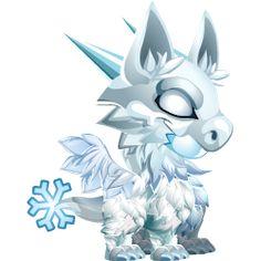 frost dragon----dragon city