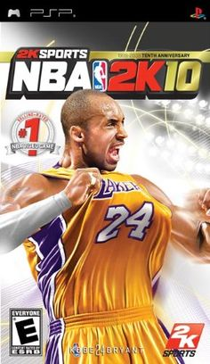 NBA 2K10  Sony PSP -- More info could be found at the image url.