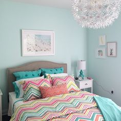 gorgeous bedroom from family circle mag