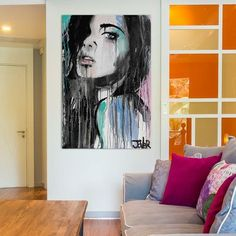 "East Urban Home 'Forever Faraway' Graphic Art on Wrapped Canvas Size: 26"" H x 18"" W x 0.75"" D"