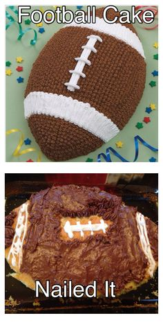 Pinterest Fail Super Bowl Edition.- courtesy of my mom. :-D Baking Fails, Pinterest Fails, Funny Fails, Super Bowl, My Nails, Laughing, Make It Yourself, Mom, My Favorite Things