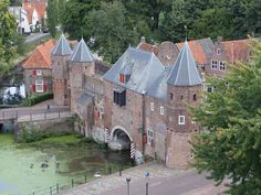 Koppelpoort Amersfoort The Netherlands Amsterdam Holland, Holland Netherlands, Visit Holland, City Landscape, The Beautiful Country, Fortification, Medieval Town, Utrecht, Places To Visit
