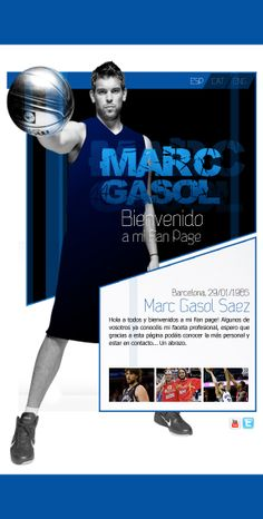 Marc gasol - Social media · Chocolate Studio / Bakery Group