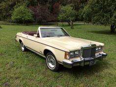 1977 Lincoln Versailles convertible