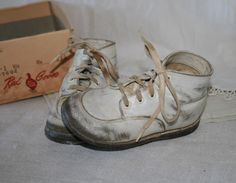 Old Red Goose Baby Shoes.