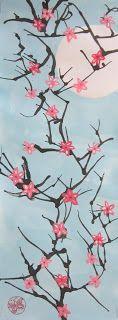 Spot of Color: 6th Grade Cherry Blossom Branches