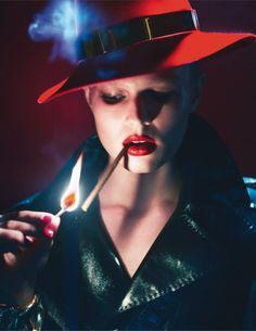 Lara Stone, Anna Ewers, Amanda Wellsh by Mert Alas & Marcus Piggott for Vogue Paris March 2014 9