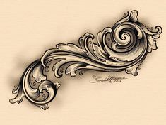 Alf Sam Alfano En (engraving by Nita) Kunst Tattoos, Body Art Tattoos, New Tattoos, Tribal Tattoos, Tattoos For Guys, Filigrana Tattoo, Tattoo Sleeve Designs, Sleeve Tattoos, Tattoo Sketches