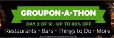 Groupon : Up to 80% Off Things To Do, Restaurants, Bars, and More!