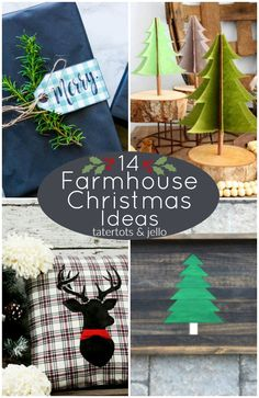 14 Farmhouse Christm