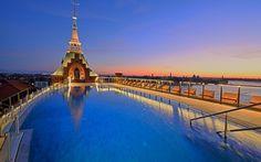 Hilton Molino Stucky Venice Hotel - Rooftop Pool