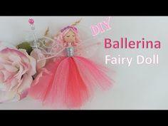 Knitting Loom Dolls, Wool Dolls, Ballerina Doll, Fairy Crafts, Clothespin Dolls, Fairy Dolls, Diy Doll, Bead Crafts, Christmas Crafts