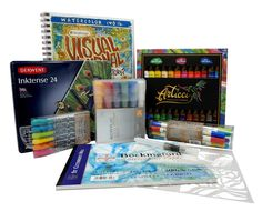Enter to Win the Ultimate Mixed Media Art Kit