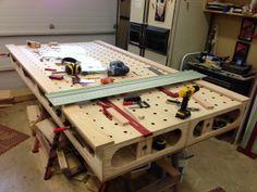 Another Paulk Workbench! #workbench  #Paulk  #woodworking  #DIY