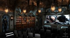 Batcave by Elite Home Theater Seating
