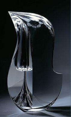 Christopher Ries (1952-), Glass Sculpture